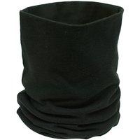 Black Cotton Neck Tube