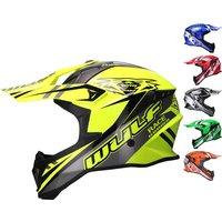 Wulf Race Series Motocross Helmet