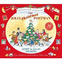 The Jolly Christmas Postman at Foyles Bookstore