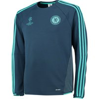Chelsea Ucl Training Top Blue