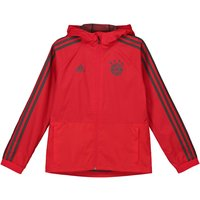 Bayern Munich Training Rain Jacket - Red - Kids