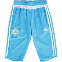 Olympique de Marseille 3/4 Training Pant - Junior - Om Blue/Core White
