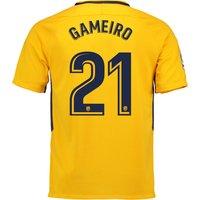 Atlético de Madrid Away Stadium Shirt 2017-18 with Gameiro 21 printing