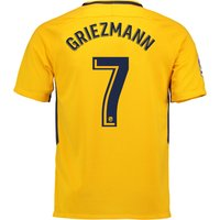 Atlético de Madrid Away Stadium Shirt 2017-18 - Kids with Griezmann 7 printing