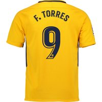 Atlético de Madrid Away Stadium Shirt 2017-18 - Kids with Torres 9 printing