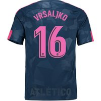 Atlético de Madrid Third Stadium Shirt 2017-18 with Vrsaljko 16 printing