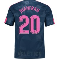 Atlético de Madrid Third Stadium Shirt 2017-18 with Juanfran 20 printing