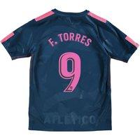 Atlético de Madrid Third Stadium Shirt 2017-18 - Kids with Torres 9 printing