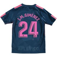 Atlético de Madrid Third Stadium Shirt 2017-18 - Kids with J.M. Giménez 24 printing