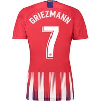 Atlético de Madrid Home Stadium Shirt 2018-19 - Womens with Griezmann 7 printing