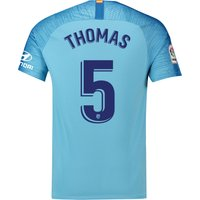 Atlético de Madrid Away Stadium Shirt 2018-19 with Thomas 5 printing