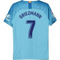 Atlético de Madrid Away Stadium Shirt 2018-19 - Kids with Griezmann 7 printing