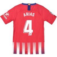 Atlético de Madrid Home Stadium Shirt 2018-19 - Kids with Arias 4 printing