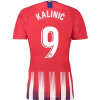 Atlético de Madrid Home Stadium Shirt 2018-19 - Womens with Kalinic 9 printing