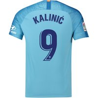 Atlético de Madrid Away Stadium Shirt 2018-19 with Kalinic 9 printing
