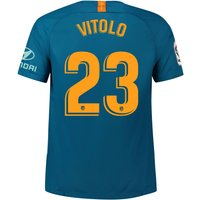Atlético de Madrid Third Stadium Shirt 2018-19 with Vitolo 23 printing