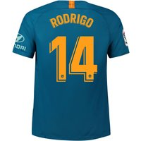 Atlético de Madrid Third Stadium Shirt 2018-19 with Rodrigo 14 printing