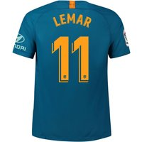 Atlético de Madrid Third Stadium Shirt 2018-19 with Lemar 11 printing