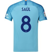 Atlético de Madrid Away Cup Stadium Shirt 2018-19 with Saúl 8 printing