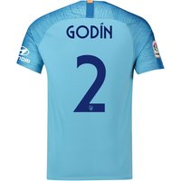 Atlético de Madrid Away Cup Stadium Shirt 2018-19 with Godín 2 printing