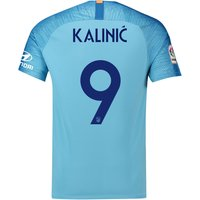 Atlético de Madrid Away Cup Stadium Shirt 2018-19 with Kalinic 9 printing