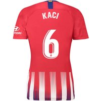 Atlético de Madrid Home Stadium Shirt 2018-19 - Womens with Kaci 6 printing