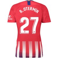 Atlético de Madrid Home Stadium Shirt 2018-19 - Womens with R. Otermín  27 printing