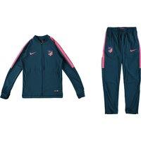 Atlético de Madrid Squad Knit Tracksuit - Lt Blue - Kids