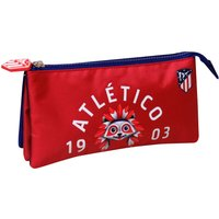 Atlético de Madrid Indi Pencil Case - 22 x 6 x 12cm