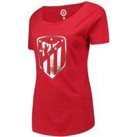Atlético de Madrid Printed T-Shirt - Red - Womens