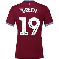 Aston Villa Home Shirt 2018-19 with Green 19 printing