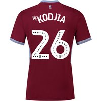Aston Villa Home Shirt 2018-19 with Kodjia 26 printing