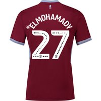 Aston Villa Home Shirt 2018-19 with Elmohamady 27 printing