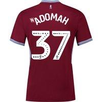 Aston Villa Home Shirt 2018-19 with Adomah 37 printing