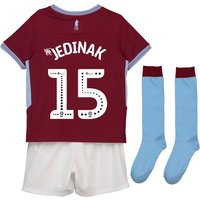 Aston Villa Home Infant Kit 2018-19 with Jedinak 15 printing