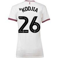 Aston Villa Away Shirt 2018-19 - Womens with Kodjia 26 printing
