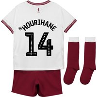 Aston Villa Away Infant Kit 2018-19 with Hourihane 14 printing