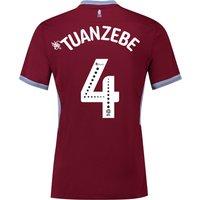 Aston Villa Home Shirt 2018-19 with Tuanzebe 4 printing