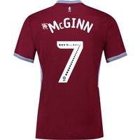 Aston Villa Home Shirt 2018-19 with McGinn 7 printing
