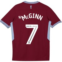 Aston Villa Home Shirt 2018-19 - Kids with McGinn 7 printing