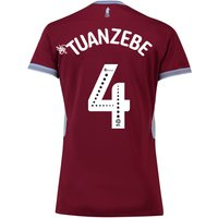 Aston Villa Home Shirt 2018-19 - Womens with Tuanzebe 4 printing