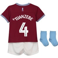 Aston Villa Home Baby Kit 2018-19 with Tuanzebe 4 printing