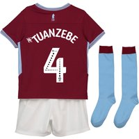 Aston Villa Home Infant Kit 2018-19 with Tuanzebe 4 printing