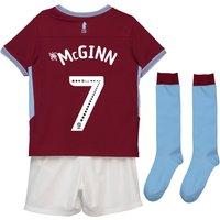 Aston Villa Home Infant Kit 2018-19 with McGinn 7 printing
