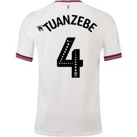 Aston Villa Away Shirt 2018-19 with Tuanzebe 4 printing