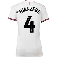 Aston Villa Away Shirt 2018-19 - Womens with Tuanzebe 4 printing