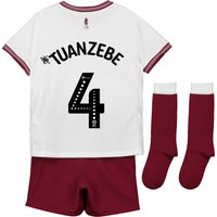 Aston Villa Away Infant Kit 2018-19 with Tuanzebe 4 printing