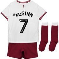 Aston Villa Away Infant Kit 2018-19 with McGinn 7 printing