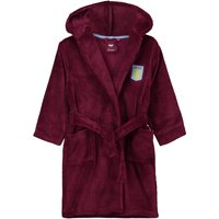 Aston Villa Fleece Robe- Claret - Girls