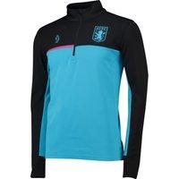 Aston Villa 1/4 Zip Training Top -  Blue
